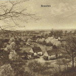 Uitzicht vanaf de Mettenberg op Hoeve Beusdael