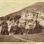Ingang van de grot bij Hotel-Restaurant Bergrust