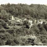 Panorama op het dorp