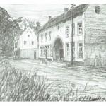 Pentekening Gasthuis