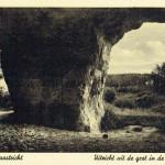 Uitzicht uit de grot in de Bemelerberg