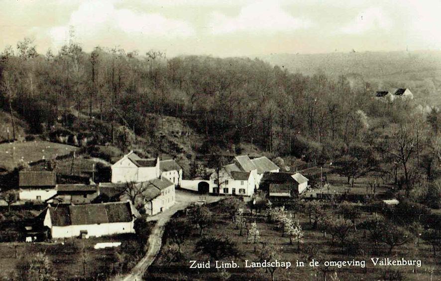 Zuid Limburgs Landschap in de omgeving Valkenburg